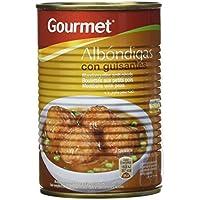 Gourmet Albóndigas Con Guisantes, Plato Preparado y Esterilizado - 415 g