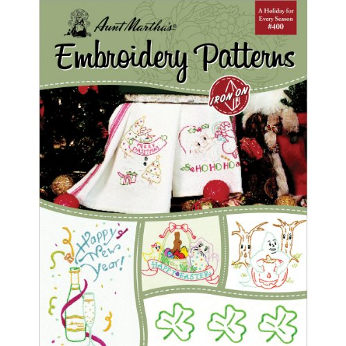 Aunt Marthas Embroidery Transfer Patterns