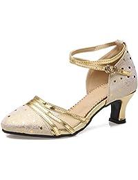 ce0b7ab1d2ccf Suchergebnis auf Amazon.de für: abendschuhe gold - Silber / Schuhe ...