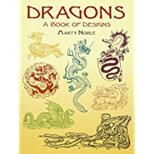 Dragons: A Book of Designs (Dover Pictorial Archives)