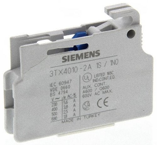 5.6 Block (Siemens SIRIUS-Block Hilfskontakt 5.6/6A 1NC)