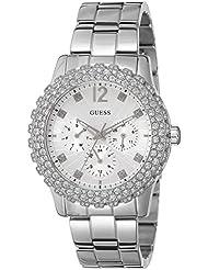 Guess Damen-Armbanduhr Analog Quarz Edelstahl W0335L1