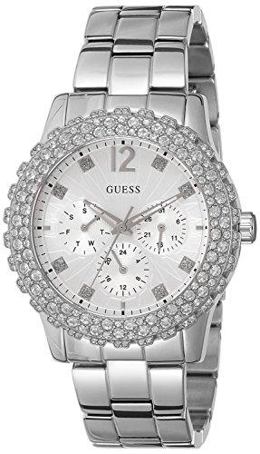 Guess W0335L1 – Reloj de pulsera mujer, acero inoxidable, color plateado