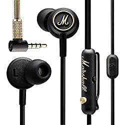 Marshall-Mode EQ - Auriculares in-Ear, Color Negro y latón