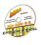 Jahres-Excel-Sudoku 2015 und 2016 im Doppelpack - Excel-Tool zum Rätseln