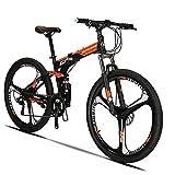 Best Bicicletas de montaña de doble suspensión - Extrbici G7 Mountain Bike 21 Speed Steel Frame Review