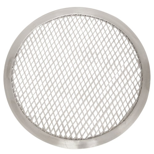 Thunder Group ALPZ11 Seamless-Rim Aluminum Pizza Screen, 11 Inch by Thunder Group