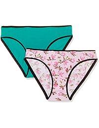 Zivame Women's Floral Cotton Bikini