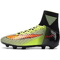 Susulv Zapatos de fútbol Calzados Botas de fútbol Botines Alto-Top Calcetín de Choque Al
