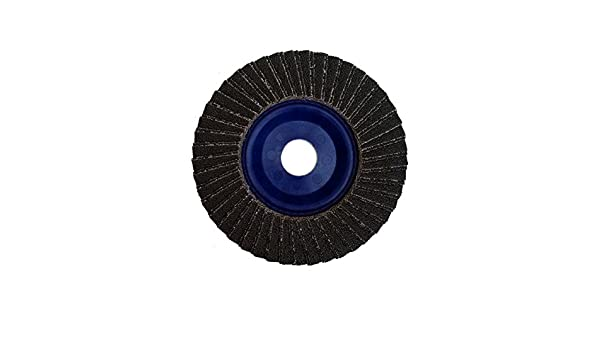 5 OD Taipan Abrasives TP-5092  Platinum Shark Zirconia Flap Disc 12250 RPM 5 OD 7//8 Arbor 80 Grit 7//8 Arbor Depressed