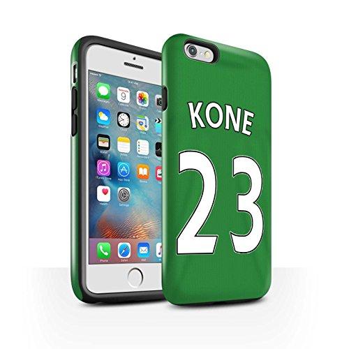 Offiziell Sunderland AFC Hülle / Glanz Harten Stoßfest Case für Apple iPhone 6S+/Plus / Pack 24pcs Muster / SAFC Trikot Away 15/16 Kollektion Kone