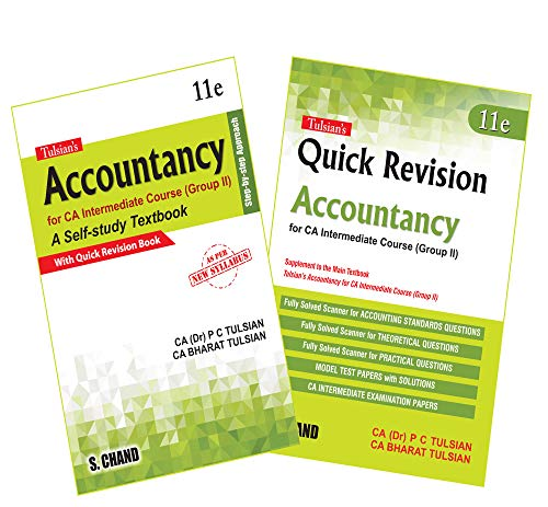 Tulsian's Accountancy: For CA Intermediate Course (Group II) with Quick Revision (2 Books Combo)