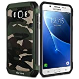 Epxee Coque Samsung Galaxy J5 2016, Silicone [Anti Choc] Protection Etui Housse pour Samsung Galaxy J5 2016 (Camo-001)