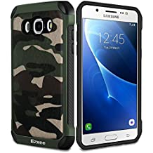 Funda Samsung Galaxy J5 2016, Epxee Silicona [Shock-Absorción] Case Carcasa para Samsung Galaxy J5 2016 (Camuflado-001)