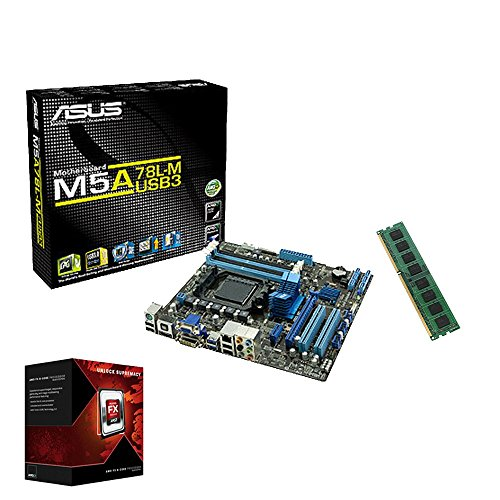 Aufruest PC Bundle AMD FX-6300 6x 4,1GHz | 8GB DDR3 RAM | Mainboard Kit