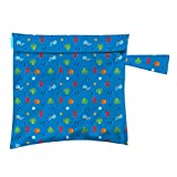 Charlie Banana Washable Diaper Tote Wet Bag (Under The Sea)