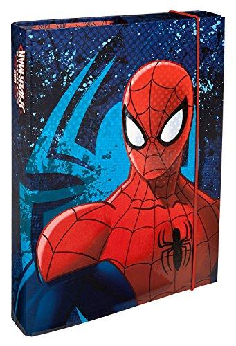Undercover SPJU0940 - Heftbox A4 Marvel Spider-Man