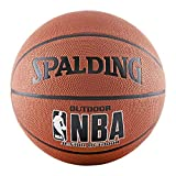 Spalding Varsity Gummi Outdoor Basketball, Orange, Intermediate Size 6 (28.5