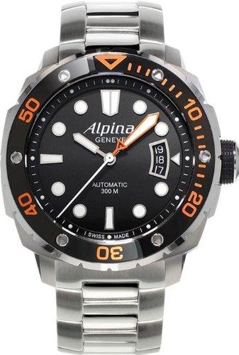 Alpina Geneve Extreme Diver AL-525LBO4V26B Orologio automatico uomo Rotore...