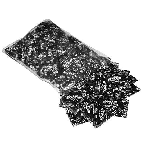 FIST Strong Marken Kondome Set - 100er Beutel, mit Reservoir und Gleitgel