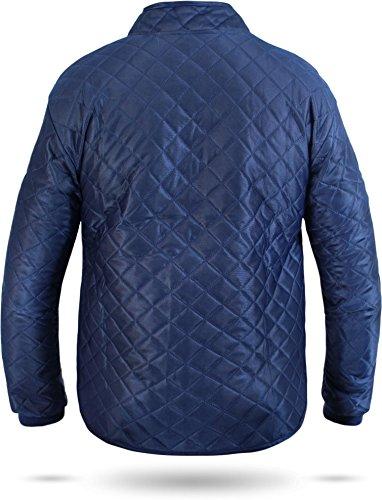 Thermo-Unterzieh-Jacke Thermojacke Thermounterwäsche mit Nierenschutz Blau Gr. S-XXXL Blau