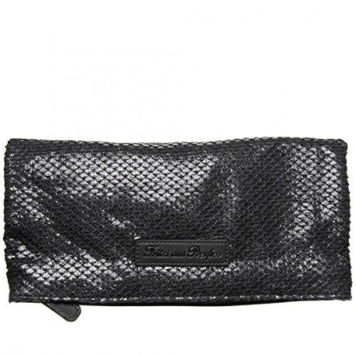 Comprar Nuevos Barato Fritzi aus Preußen Ronja Classic Scaly Nubuck Borsa a tracolla 29 cm Black Venta En Línea iG04Z