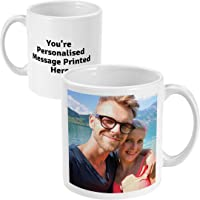 Personalised Mug - Printed with Your Photo and Text or Logo Same Day Dispatch if Before 2:00 Custom Gift for Birthdays…
