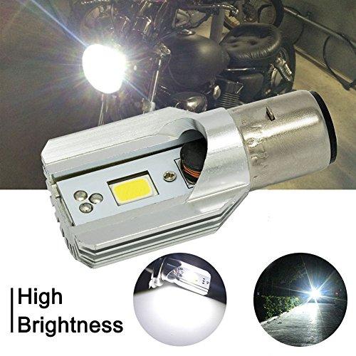 Preisvergleich Produktbild YUnnuopromi Wasserdichtes Motorrad Motorrad super helle Scheinwerfer,  COB LED Glühbirne Licht Lampe,  Weißes Licht