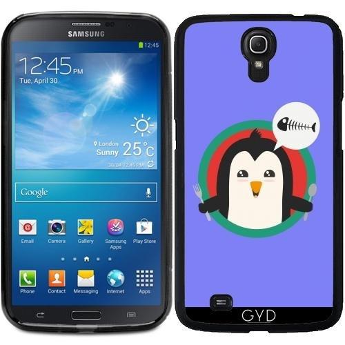 Hülle für Samsung Galaxy Mega 6.3 GT-I9205 - Pinguin Mit Besteck Und by ilovecotton