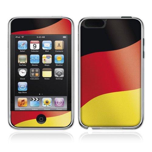 Universal Trends REI19785 - Skin iPod touch - schwarz-rot-gold