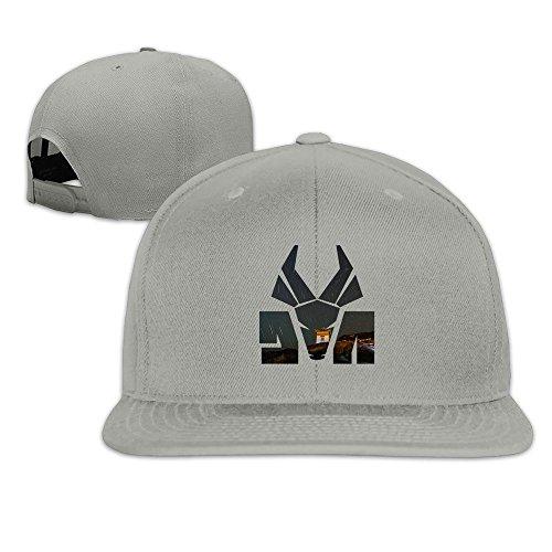 Hittings Die Antwoord Logo Unisex Fashion Cool Adjustable Snapback Baseball Cap Hat One Size Ash