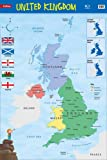 United Kingdom: Wall Map (Collins Primary Atlases)