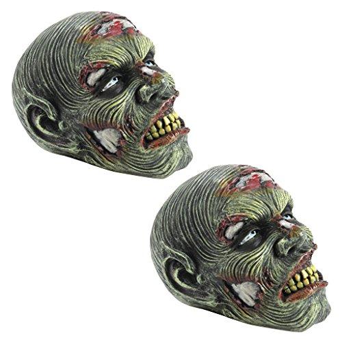 Design Toscano Halloween by Blagdon Zombiekopf-Figur Lost Zombie Head von Künstler Liam Manchester