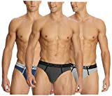 #1: Jockey Modern Brief 8044 (Assorted Pack of 3) (Colors May Vary)