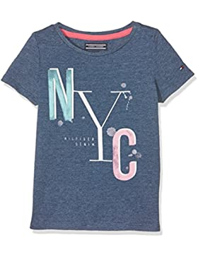 Tommy Hilfiger Ame S Iconic Cn Knit S/S 1, Camiseta para Niños