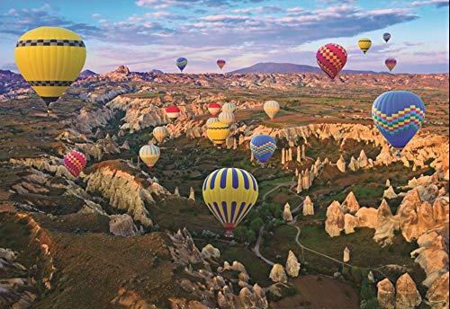 HCYEFG 1000 Stück Puzzle Kappadokien Heißluftballon Hobby Home Dekoration DIY