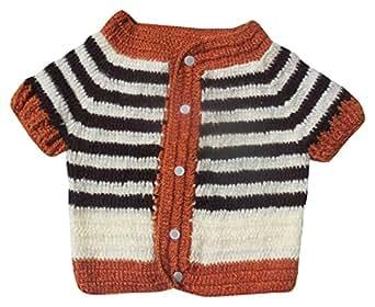 Sr Handicrafts Baby Boys Woollen Sweater Sh003 1 2 Years Multi