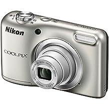 "Nikon COOLPIX A10 + Case 16.1MP 1/2.3"" CCD 4608 x 3456Pixeles Plata - Cámara digital (Corriente alterna, Batería, Cámara compacta, 1/2.3"", 4,6 - 23 mm, Auto, LCD)"