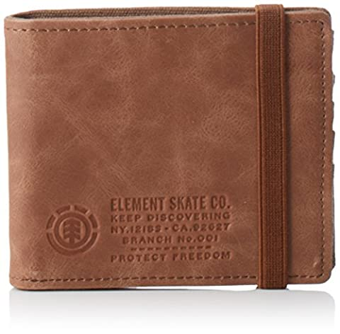 Element ENDURE WALLET, Portefeuille homme - Marron - Braun (Brown 90), 11x10x2 cm (B x H x T)
