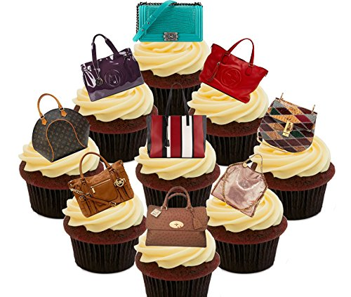 designer-handbags-party-pack-edible-cupcake-toppers-stand-up-wafer-cake-decorations-pack-of-36