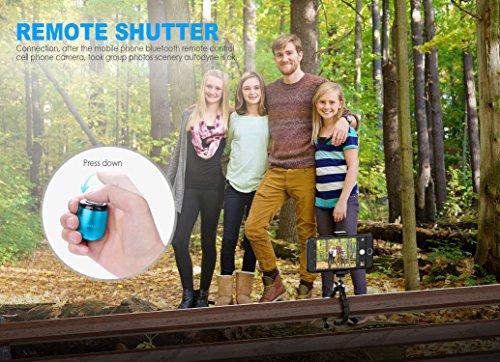 Piccolo Altoparlante Bluetooth Portatile da Ancord Piccolo Corpo Forti Voice Pulsante di Scatto Selfie Caratteristiche del libro (Blu) Blue