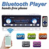 Audew Autoradio Bluetooth MP3 Auto Radio Aux USB Bluetooth LCD Player Stereo Audio Radio 12V USB SD Aux WMA WAV FLAC Ape 60W