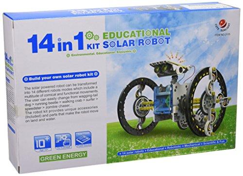 Imagen principal de CEBEKIT - Kit Juguete Didactico Educativo 14 X1 Educacional Solar Robot C-9921