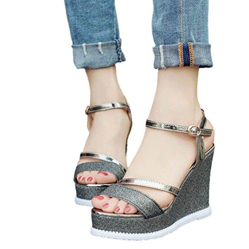 Calzado Chancletas Tacones Zapatos Cuñas Mujer Sandalias