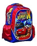 FACTORYCR Zaino Cars Street C/Luce 46,5x 30x 14CMS Disney per Bambini, Multicolore, 30X 46,5X 14(gimsa 341-52031)
