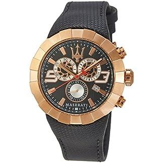Maserati Reloj de Cuarzo Man Tridente Collection R8871603002 43.0 mm