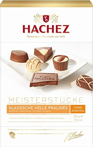 Preisvergleich Produktbild Hachez Meisterstücke Hell ohne Alkohol,  1er Pack (1 x 150 g)