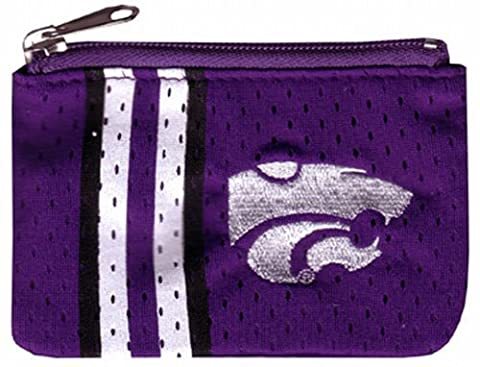 NCAA Kansas State Wildcats Ladies Athletic Mesh Coin Purse by