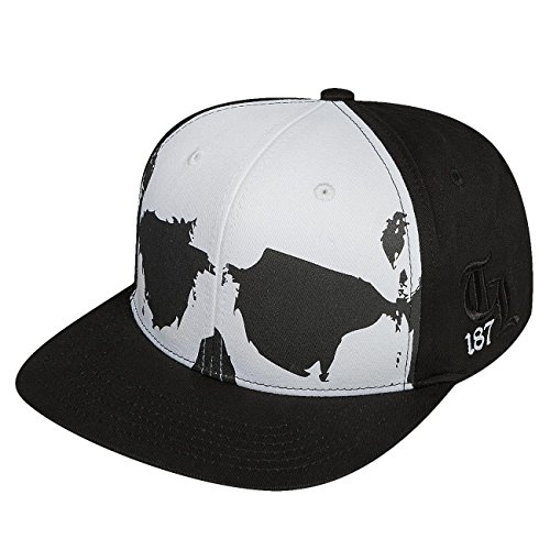 thug-life-homme-casquettes-snapback-scully-noir-rglable
