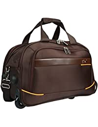 Fly Luxe Softsided Nylon Duffle Carry-On Trolley Travel Luggage d6ff032ac02bd